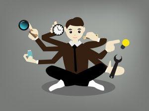 Online-Jobs: Mutltitasking einfach gemacht